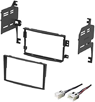 Aftermarket Double-Din Radio Mount for 350Z Car Stereo Install Dash Kit w// Wires
