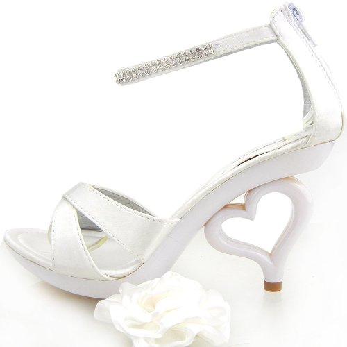 cheville Blanc Show Bride femme de Story y1ycZ7qa
