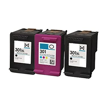gastos de env¨ªo gratis!! UCI-HI-HP301 [3 tinta=ONE SET+1BK] 3 remanufacturado tinta cartridges for HP Deskjet 1000 1050 1050A All-in-One 2050 2050A ...