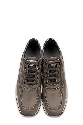 HXM00N09041LND9997 Leather Sneakers Hogan Brown Men's 4C8qY
