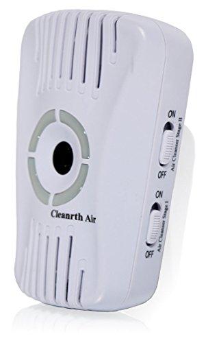 CLEANRTH Air Ionic Air Purifier Ozone Air Cleaner