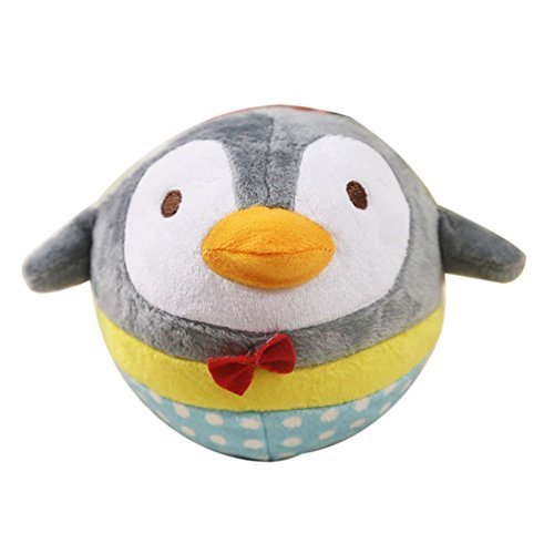 KOqwez33 Pet Toy, Dog Toy, Chew Bite Toy,Pet Squeaker,Soft Pet Puppy Chew Play Squeaker Squeaky Cute Plush Sound Funny Toy for Dog Penguin