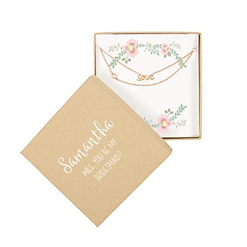 Cathy's Concepts Rose Gold Love Bracelet