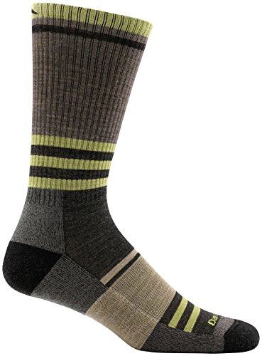 Darn Tough Spur Boot Light Cushion Sock - Men's Brown Small by Darn Tough (Image #1)