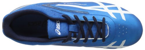 Asics Mens Hypersprint 5 Track Shoe Blu / Bianco / Nero