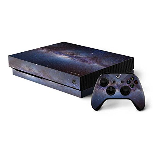 Skinit Space Xbox One X Bundle Skin - Panorama View of the Center of the Milky Way | Photography - Way Panorama Milky