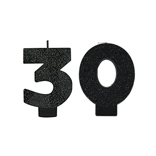 """Amscan Over the Hill 30th Birthday Candle Bundle 