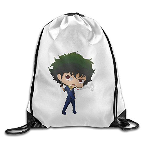 Bekey Cowboy Bebop Character Gym Drawstring Backpack Bags For Men & Women For Home Travel Storage Use Gym Traveling Shopping Sport Yoga (Female X Men Characters)