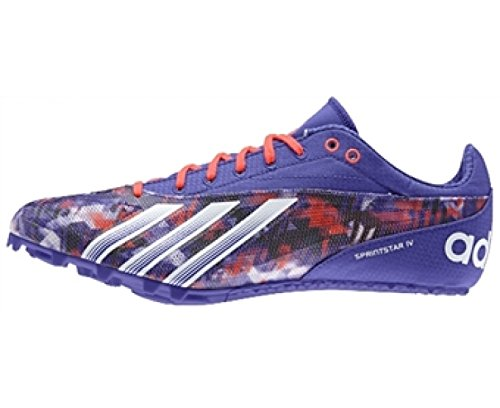 the best attitude 4d806 00c4e adidas Sprintstar 4 Men s Running Spikes, Purple, UK8  Amazon.co.uk  Shoes    Bags