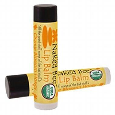 The Naked Bee - Lip Balm Orange Blossom Honey Set of 6