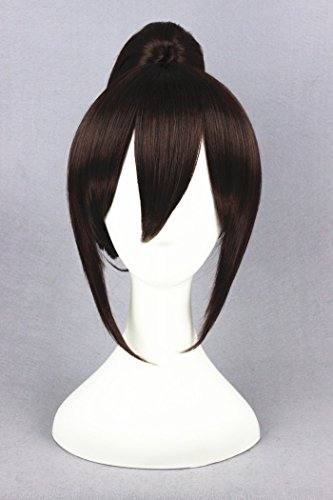 Womens Angelina Brown Wig (Prettybuy 13