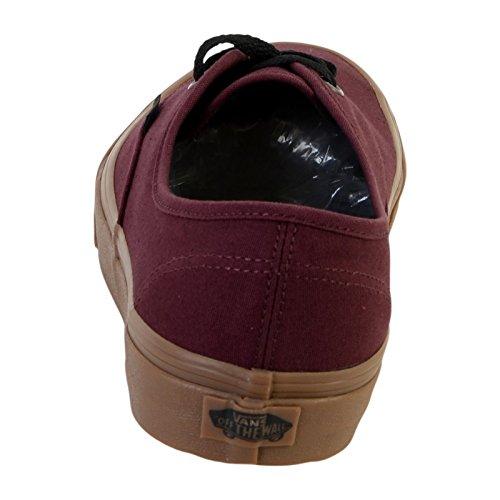 adulte Authentic Vans mixte Baskets Rouge mode SInFTxq