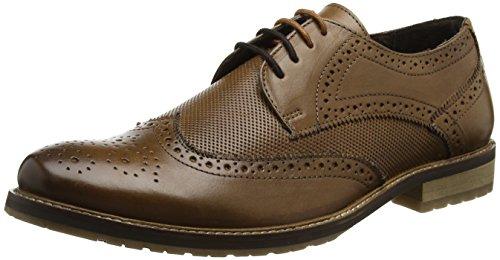 Lotus Hatch - Zapatos de vestir Hombre Marrón (Brown)
