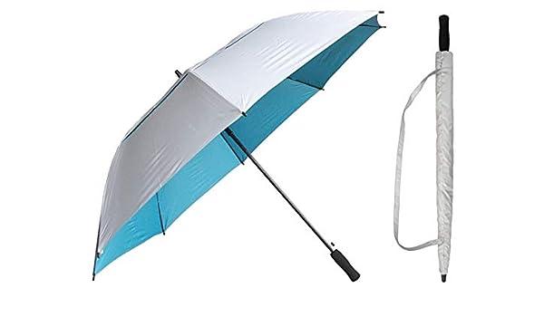 "44/"" Arc Color-Changing Stripes Auto-Auto Mini Umbrella-RainStoppers Rain//Shine"