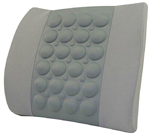Moyishi New Memory Foam Seat Chair Lumbar Cushion Pillow Back Support Pad For Car Sedan Office Home Gray (Support Pillow Sacral Lumbar)