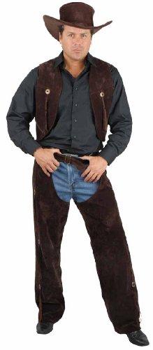 CH01743 (Large) Adult Chaps & Vest (Cowgirl Chaps And Vest)