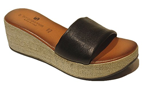 BORGO GIANNOTTI Mujer Sandalias negro Size: 37 Xe7a3vu