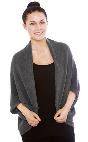 Simplicity Womens Sleeved Crochet Cardigan