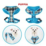 Puppia Soft Dog Harness Spring Pink Small, My Pet Supplies