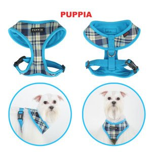 Puppia Soft Dog Harness Spring Pink Small