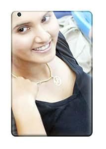 Fashionable Style YY-ONE Skin For Ipad Mini/mini 2- Sania Mirza Tennis Star