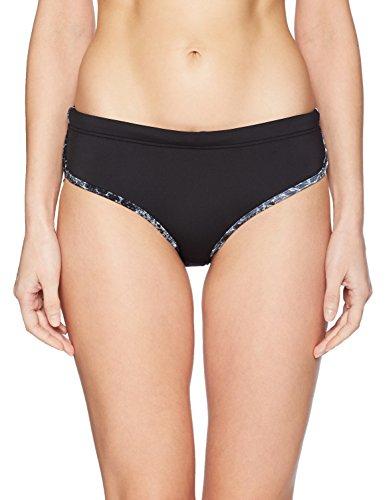 TYR Women's Seripiente Zola Hipkini Swimming Bottom, Black, Medium