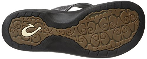 Black Olukai Brown Java Ohana Silver Black pewter Woman Sandal RRqHAwxWa4