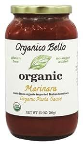 Organico Bello - Organic Pasta Sauce Marinara - 25 oz