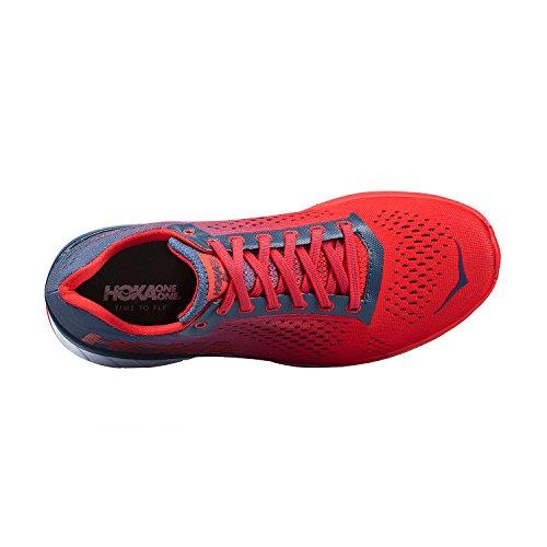 Hoka Womens Cavu Running Shoes Vintage Indigo/Hibiscus 0vFyq7W8c