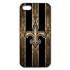 Different Style Custom Personalized Sports NFL New Orleans Saints Iphone 5 5S Case New Orleans Saints Logo Cover Iphone 5 5S TU543077