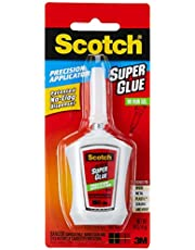 Scotch Super Glue Gel in Precision Applicator, 0.14ounce (AD125)