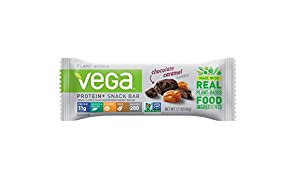 Vega Protein+ Snack Bar, Chocolate Caramel, 1.7 Ounce