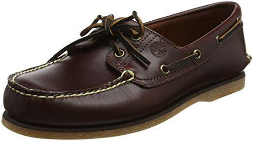 najlepiej sprzedający się 100% wysokiej jakości sprawdzić Timberland Men's Classic 2-Eye Boat Shoe, Rootbeer/Brown, 8 ...