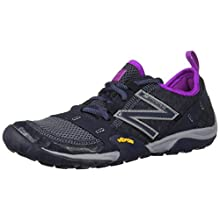 New Balance Women's 10v1 Minimus Trail Running Shoe, Outerspace/Voltage Violet, 8 D US