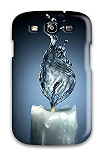 Awesome Case Cover/galaxy S3 Defender Case Cover(water Candles)