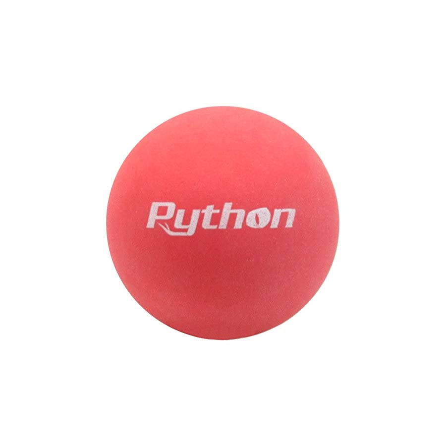 Python Red Racquetballs (Value Pack 12 Ball Jug/Lightning Fast!)