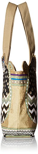 Laurel Burch TRES GATOS Polka Dot Medium Tote Bag by Laurel Burch (Image #2)