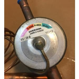 EMERSON/ALCO HFS 1 SW 45/066522 1 TON ADJUSTABLE INTERNAL PRESSURE LIMITING TXV