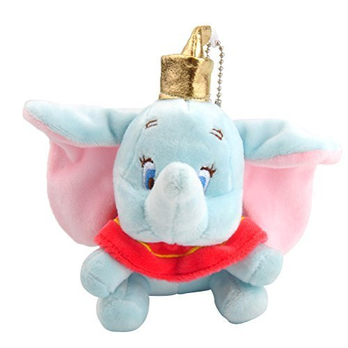 - UEETEK Mobile Phone Charm Keychain Bag Phone Strap Pendant (Cute Elephant Plush)