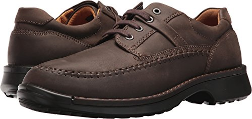 ECCO Men's Fusion Moc Oxford, Coffee Oil Nubuck, 47 EU/13-13.5 M US