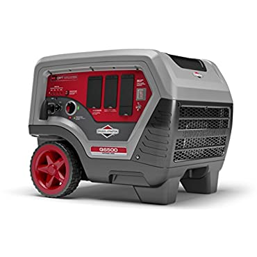Briggs & Stratton Q6500 Inverter Generator - 6500 Starting Watts QuietPower Series Portable Generator for Home Backup (30675)