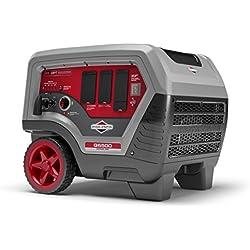 Briggs & Stratton 30675A Q6500 Inverter Generator - 6500 Starting Watts QuietPower Series Portable Generator for Home Backup
