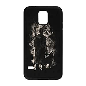Custom Hot tv series Game Of Thrones - House Stark black plastic Case for SamSung Galaxy S4 I9500 cover at luckeverything store