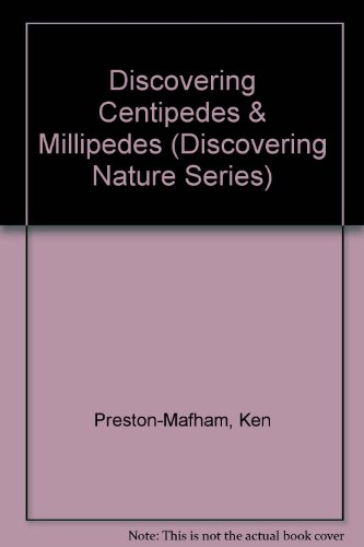 Discovering Centipedes & Millipedes (Discovering Nature Series)
