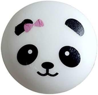 leyouyou520 1 Piece 3.9 Inch Squishy Charms Kawaii Jumbo Panda Phone Strap