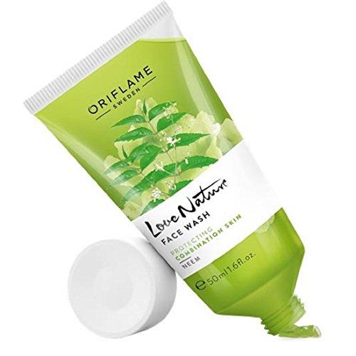 Oriflame Love Nature Face Wash Neem  50Ml
