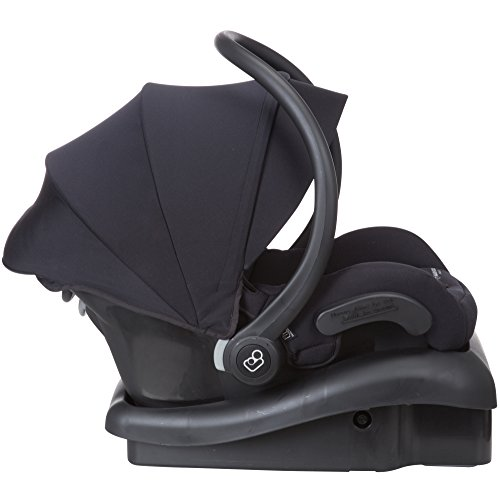 41Osm%2BTsVkL - Maxi-Cosi Mico 30 Infant Car Seat With Base, Night Black, One Size