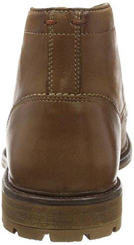 Hush Puppies Benson Rigby - Botas de otra piel hombre marrón - Brown (Tan Leather)