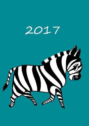 Download MY BIG FAT CALENDAR 2017 (Great Britain) - MY ZEBRA petrol: 1 day per page, DIN A4 pdf epub