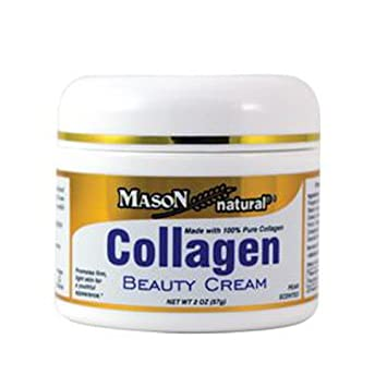 Collagen Beauty Cream Made with 100 Pure Collagen Promotes Tight Skin Enhances Skin Firmness 2 Ounce Pack of 6